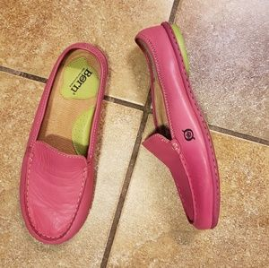 Pink Leather Born size 8 shoes! GUC